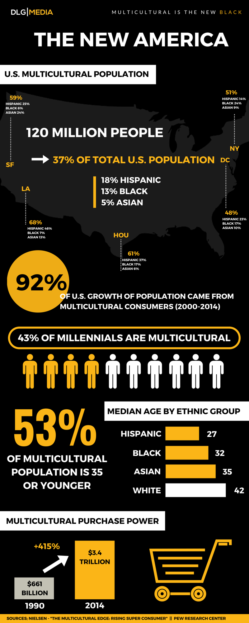 INFOGRAPHIC - The New America - Multicultural is the New Black