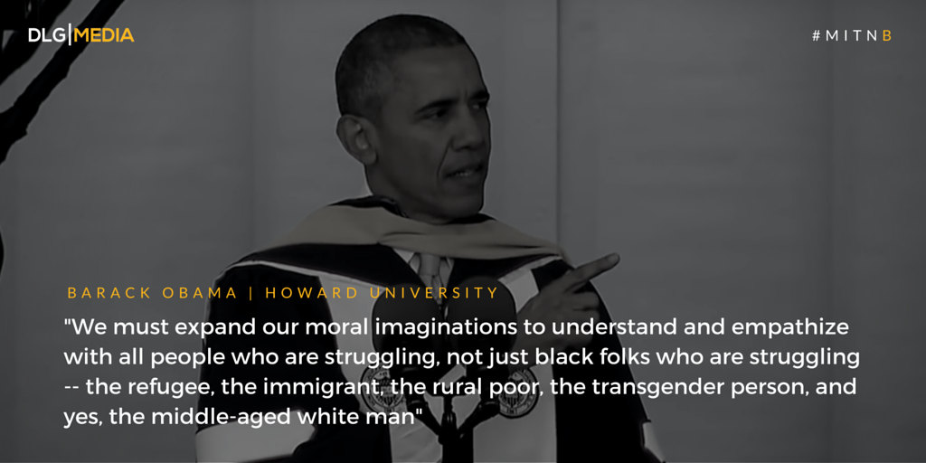 One of most Inspirational Commencement Speeches - Barack Obama