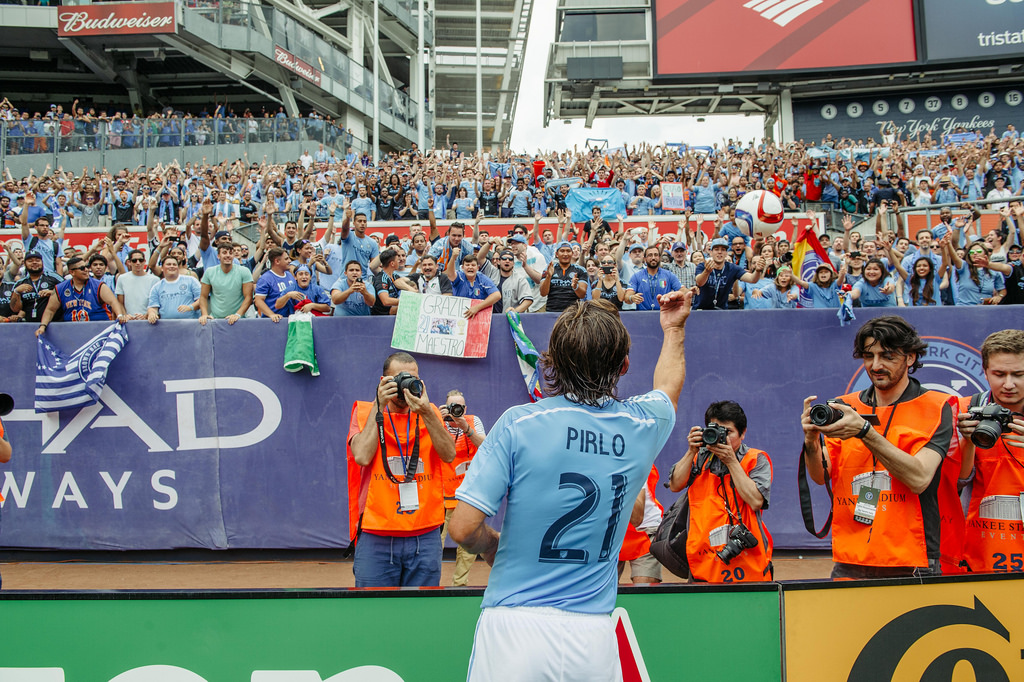NYCFC - PIRLO THROW IN