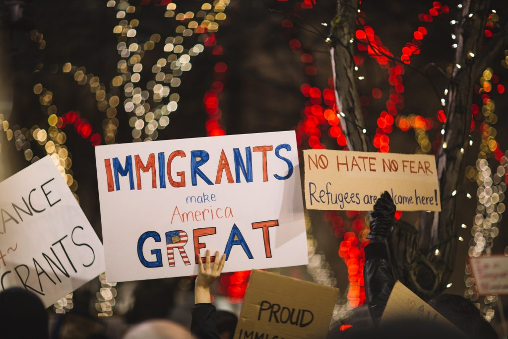 attacking immigrants